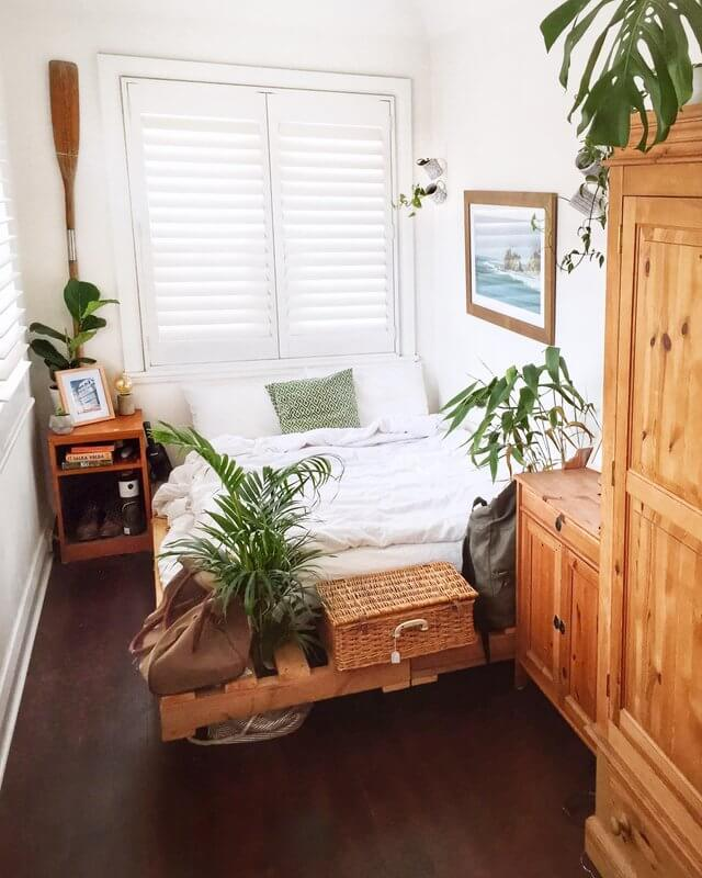 Reddit user Toddunctious' bedroom with plants
