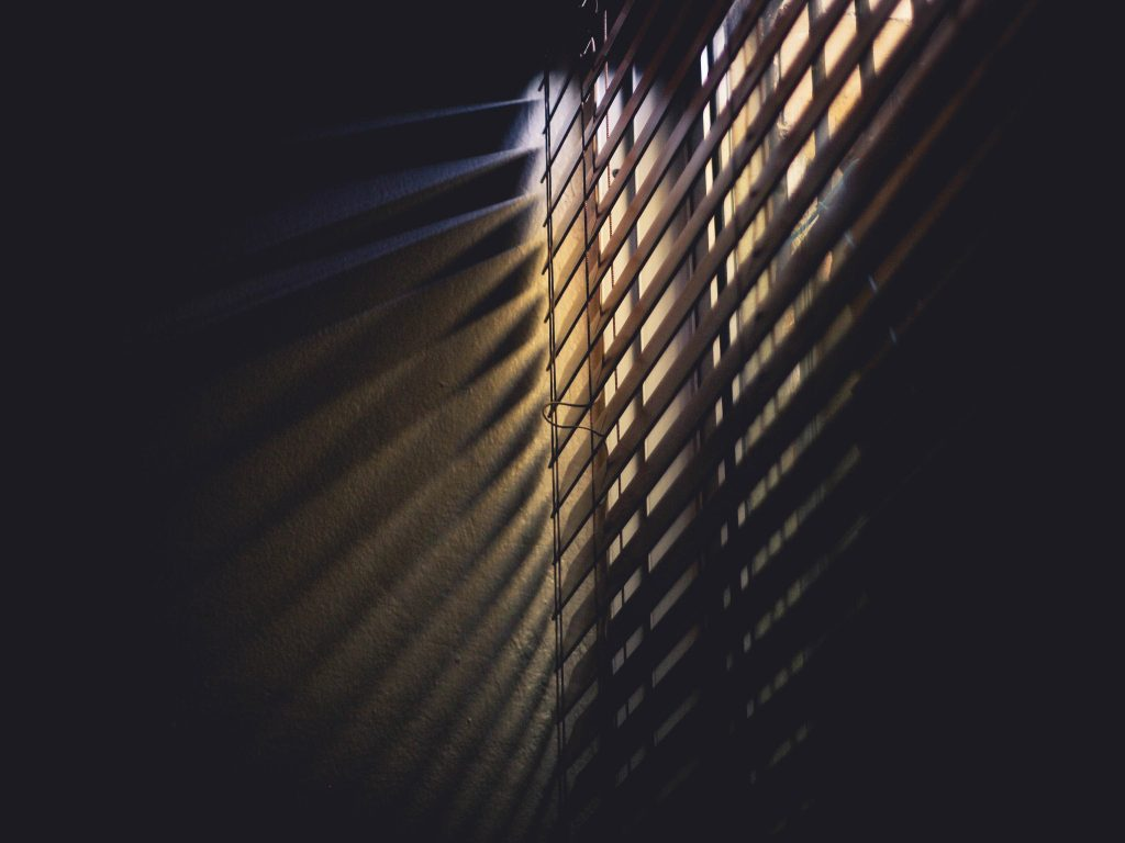 blackout blinds for the bedroom