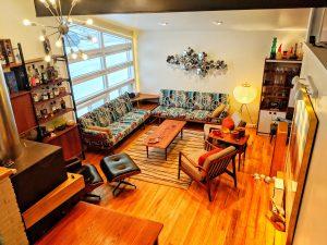 cancerresearcher84's mid-century modern living room from reddit