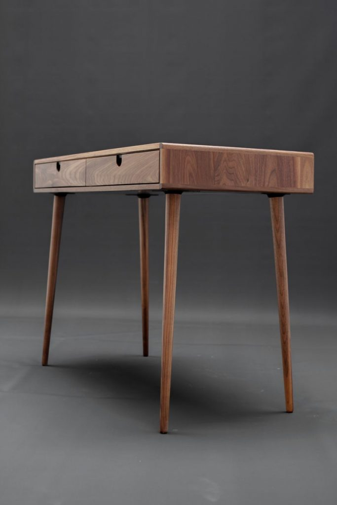 A mid-century modern desk from Habitables