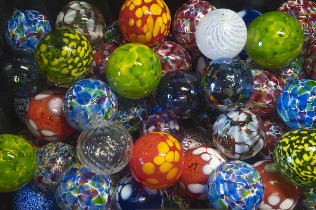 Local Art Glass Ornaments