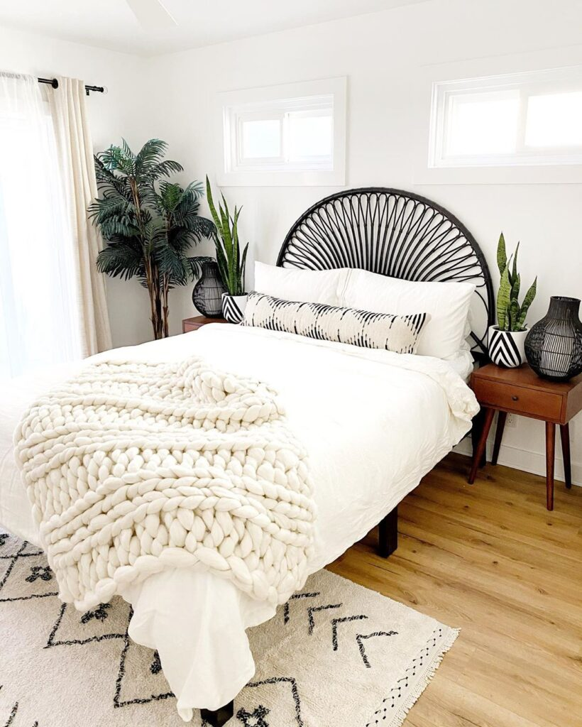 @cottageandsea boho bedrooms