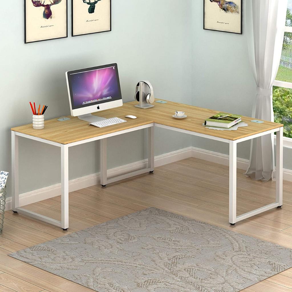 SHW L-Shaped Desk