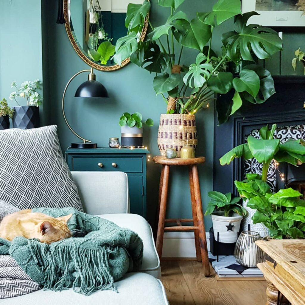 Nessie Mirror and Sofa