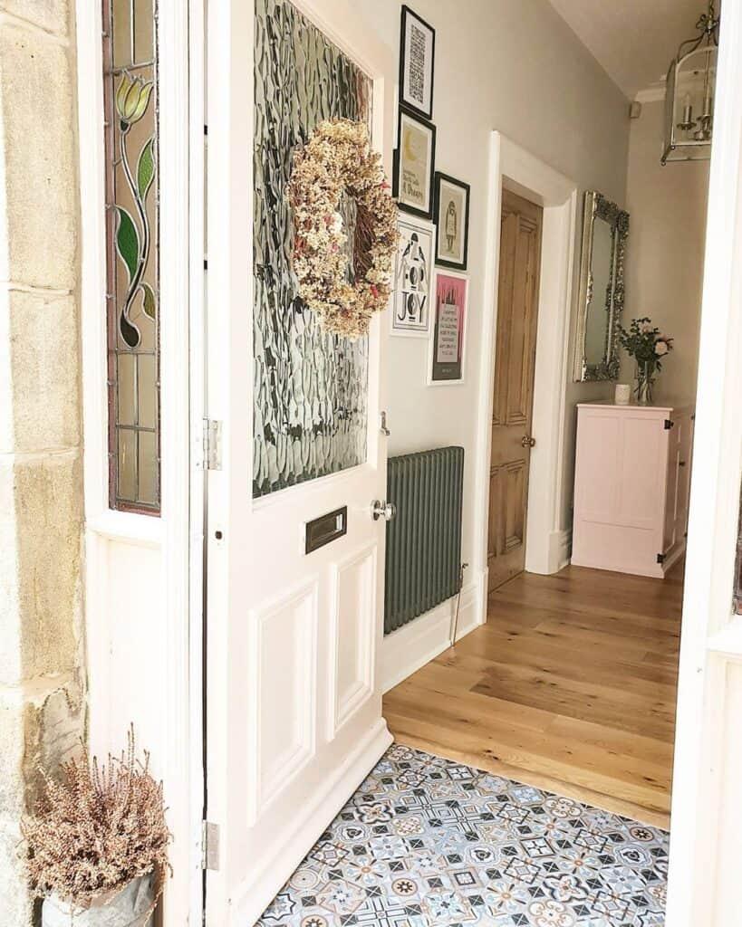 open front door looking inside