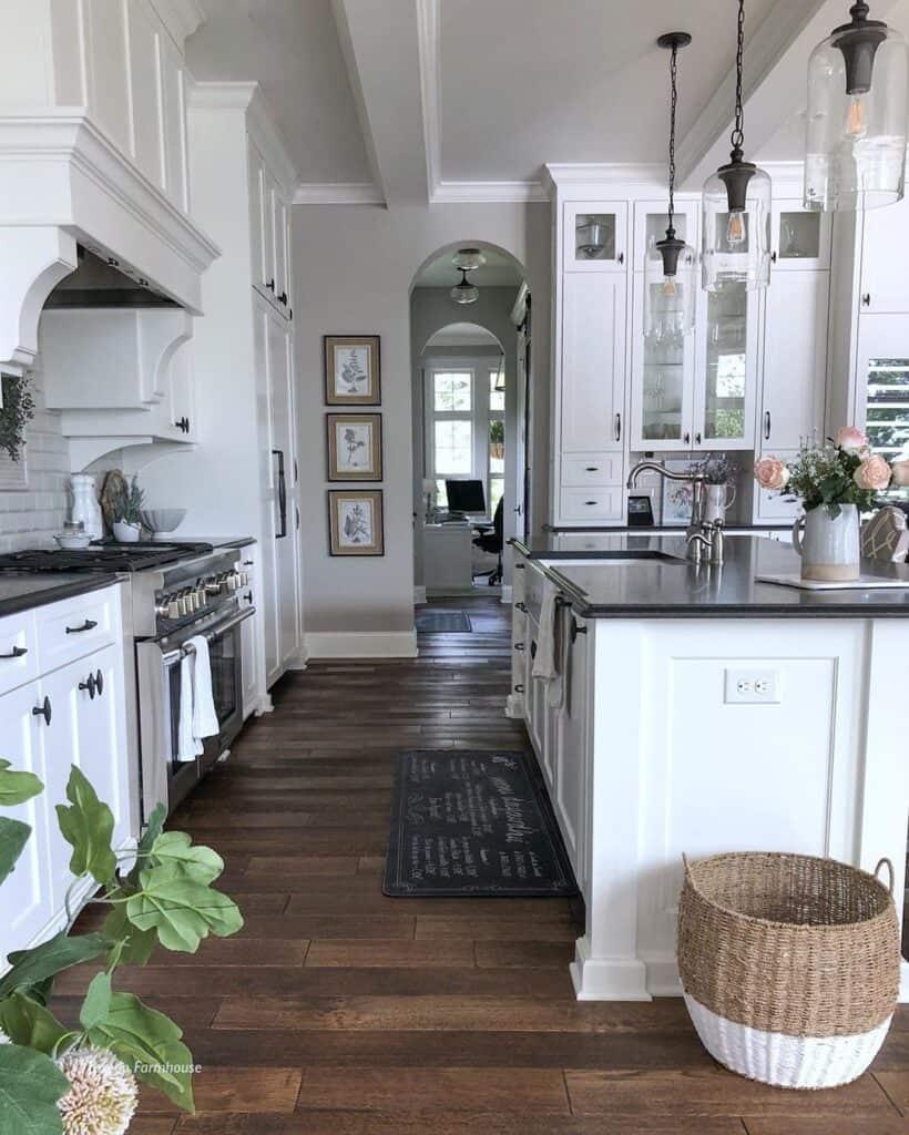 kitchen length ways